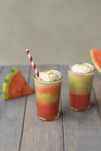 Melon Matcha drink Drinks Food And Drink Matcha Drink Foodphotography Fresh Icetea Melon Shake Smoothie Summer