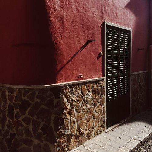 Inca Palma De Mallorca Vscocam VSCO Red Wall SPAIN Traveling Travel Photography