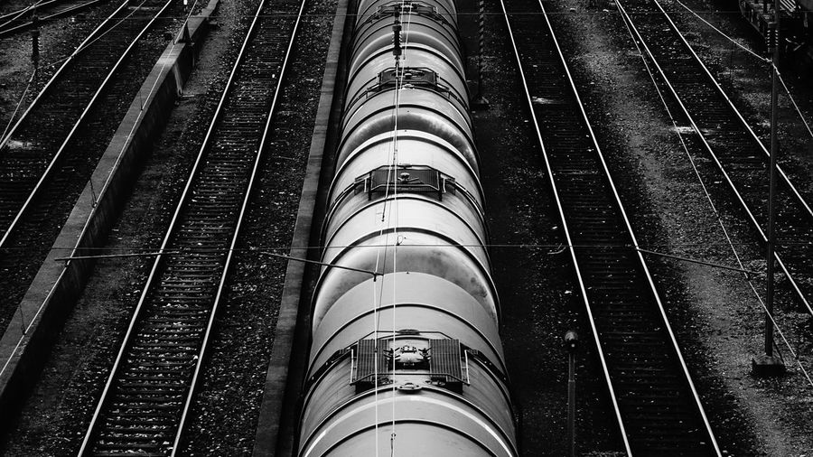 Eisenbahn Eisenbahnfotografie From My Point Of View Long March Showcase Perspective Rail Transportation Railroad Station Railroad Track Railway Track Showcase March Train Transportation Transportation