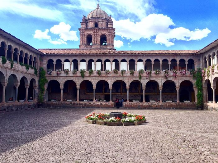 Koricancha Cusco Templodelsol Peru Traveling Taking Photos Travel Blue Sky