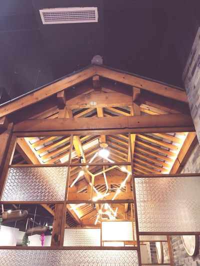EyeEm Selects Architecture Built Structure Low Angle View No People Illuminated Indoors