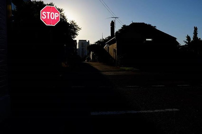Stop. Sign Urban Street Stleonards Stop Streetsign