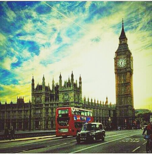 wish I could visit you oneday :) one of my dream vacation! Big Ben From Londoneye City Of London British DreamVacation