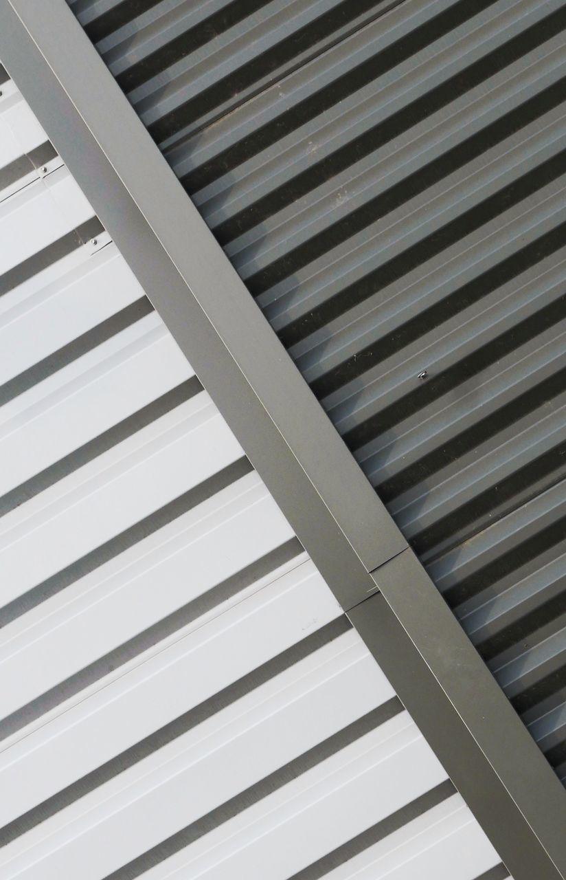 Full Frame Shot Of Metal Ceiling