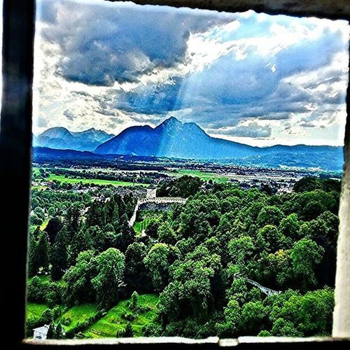 Neture Salsburger Worldcaptures Waild Castle Blusky Summer Sunshine Clouds With Funday Vication Europe