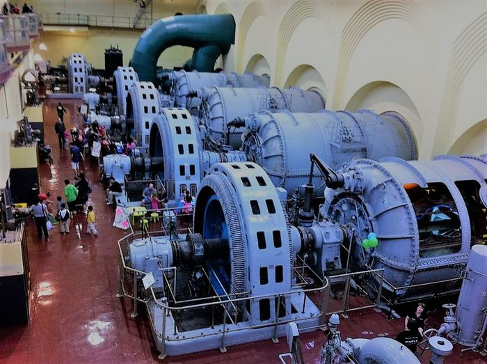 Day Electrical Plant Hydro Indoors  Mode Of Transport People Tourist Attraction  Transportation