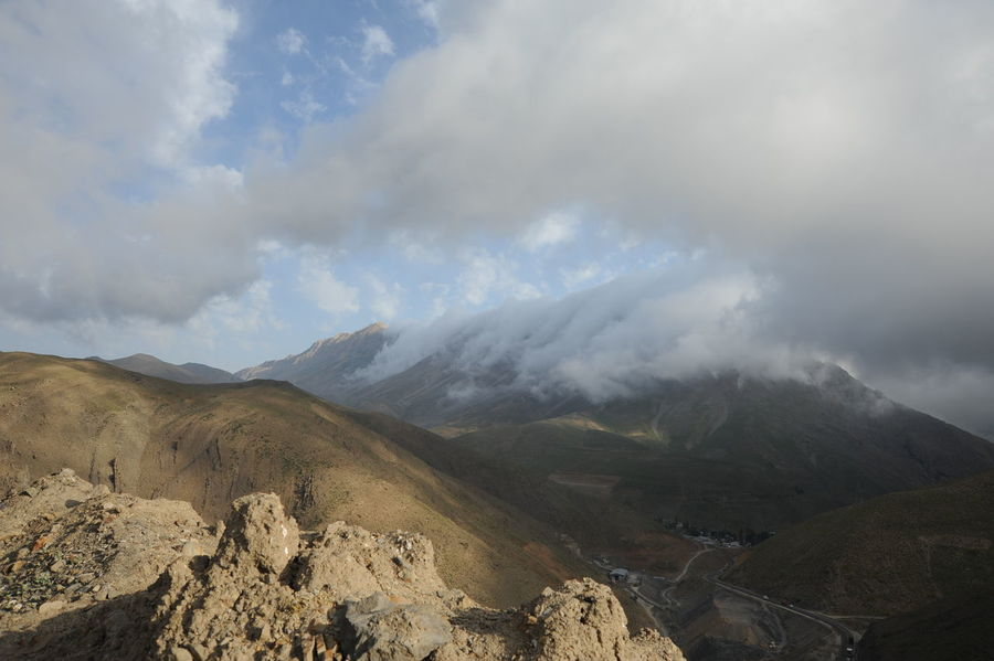 Cloud Kissing Mountain Iran Nature Landscape Majestic Mountain Mountains And Clouds Outdoors Power In Nature