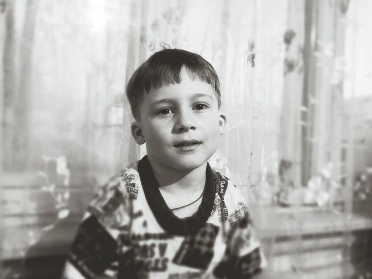 Child Portrait Looking At Camera Childhood Males  Front View Children Only Headshot One Person Real People People Smiling Indoors  Day