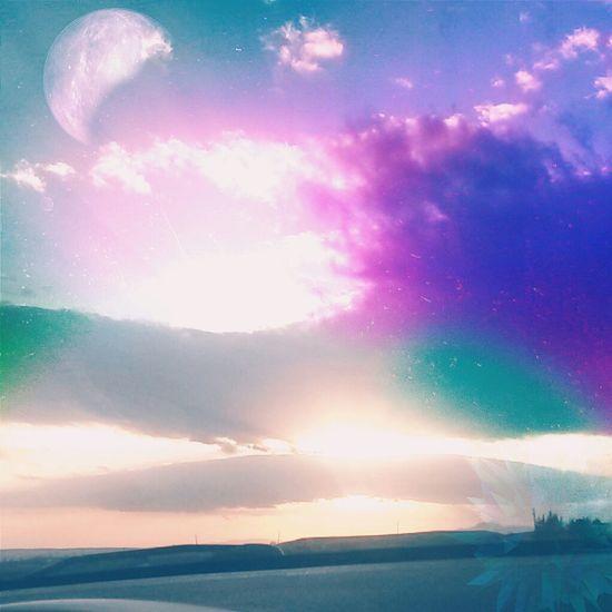 Batikent Ankara Turkey Amazing Place Planet Lila Wolken. UFO Urban Life EyeEm Best Shots