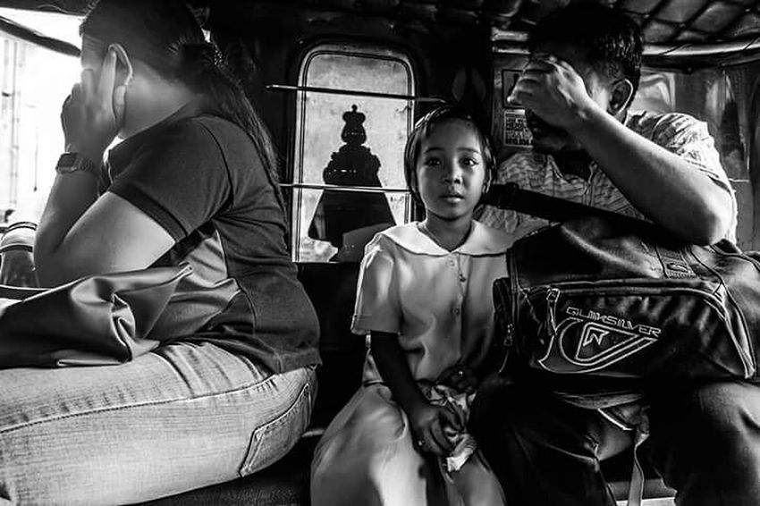 Street Photography This Week On Eye Em Taking Photos Manila, Philippines Blackandwhite Photography Capturing A Mood Going The Distance Urban Lifestyle Everyday Life
