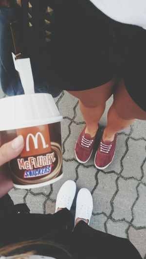 McFlurry  Snickers Bff Mcdonalds #lovely