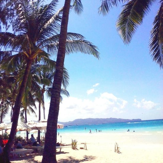Let's go to the beach! Beach Life Is A Beach White Sand Beach Boracay Philippines Nature Eyeem Philippines On The Beach Beautiful Nature EyeEm Best Shots The Week On EyeEm Protecting Where We Play Landscapes With WhiteWall