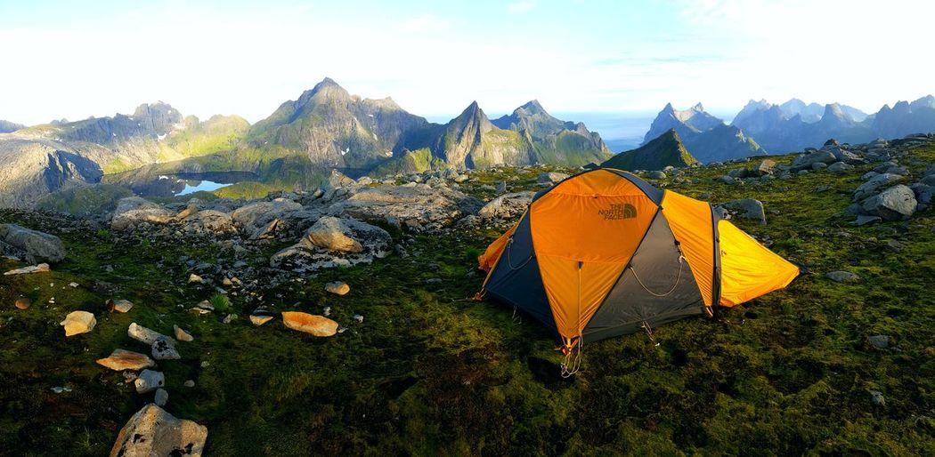 Munkebu Hermannsdalstinden Norway🇳🇴 THE NORTH FACE Wildcamping Offroad Lofoten Islands Norge🇳🇴 Norwegen Norwegen 2017 Freedom Lost In The Landscape