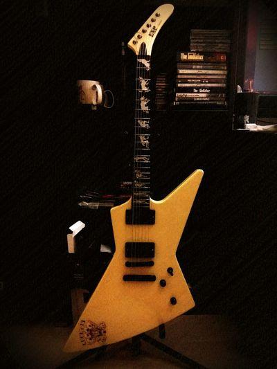 Beauty ESP ESPguitars Espexplorer Metallica James Hetfield Guitar
