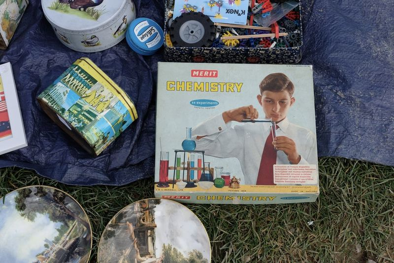 Chemistry Set, Childs Toy Day Indoors  One Person People Real People Young Adult