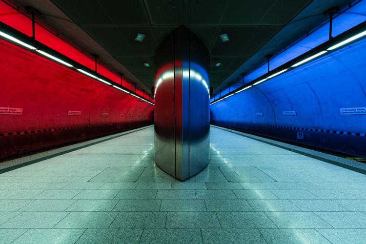 Bochum Germany Deutschland Architecture Transportation Subway Underground Station City Cityscape