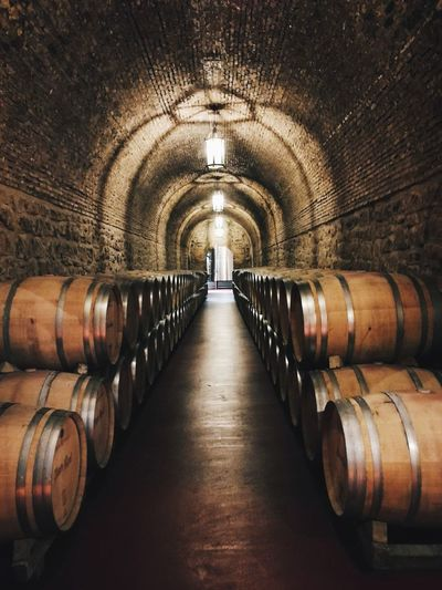 Wine Cellar Cellar Barrel Winery Wine Cask Wine Winemaking Indoors  Alcohol In A Row Food And Drink Industry Wood - Material Industry Food And Drink Stack No People Keg Basement Day La Rioja