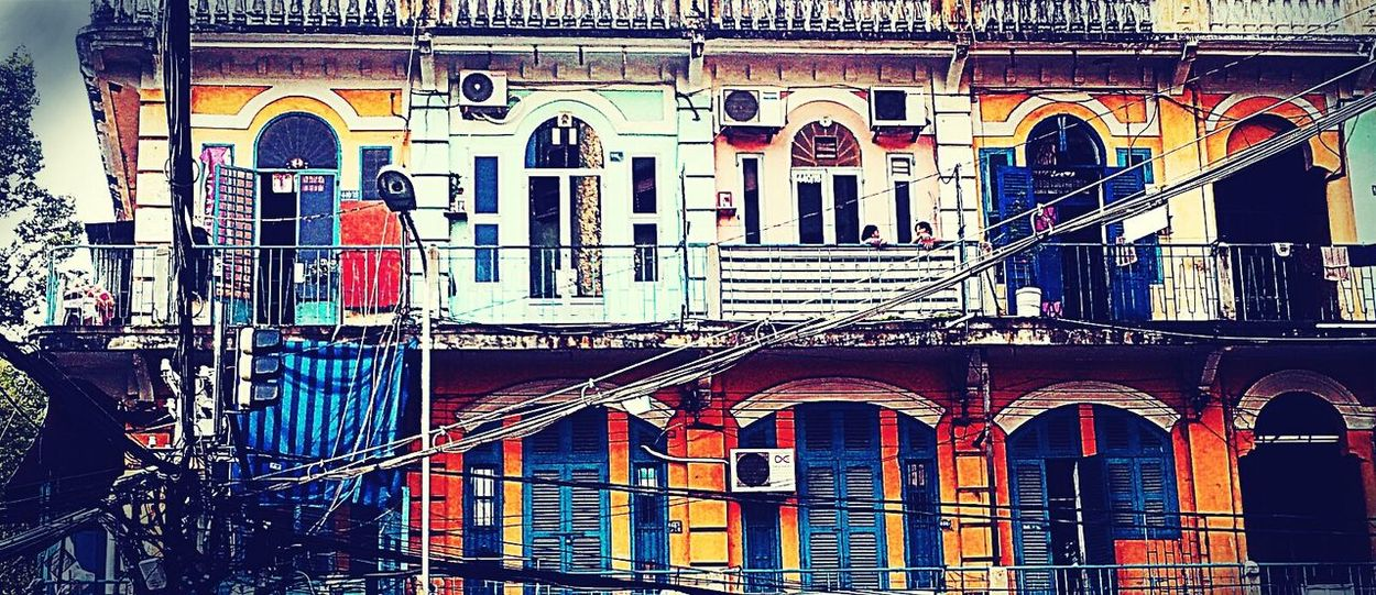 Taking Photos Colorplay My City Old Buildings