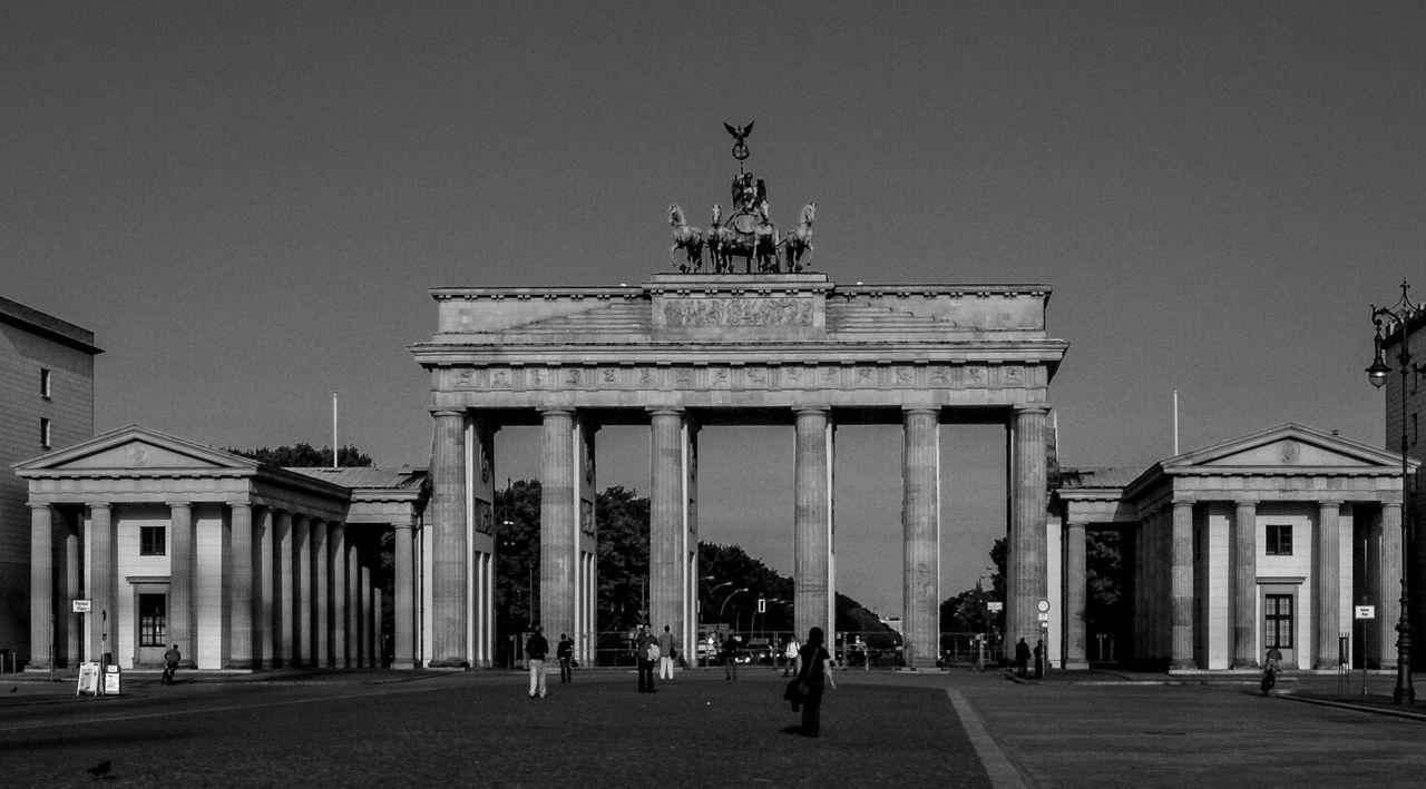 View Of Brandenburg Gate