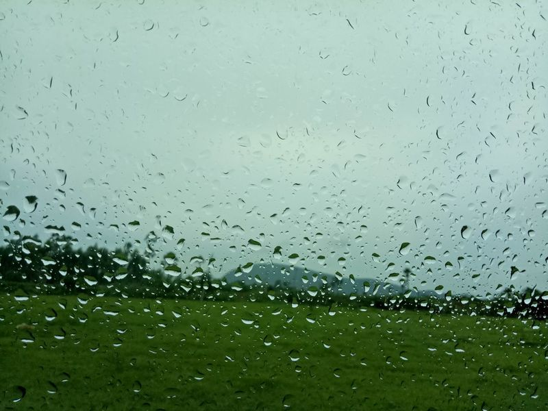 No People Nature Outdoors Rural Scene Beauty In Nature Field RainyDay Beautiful View