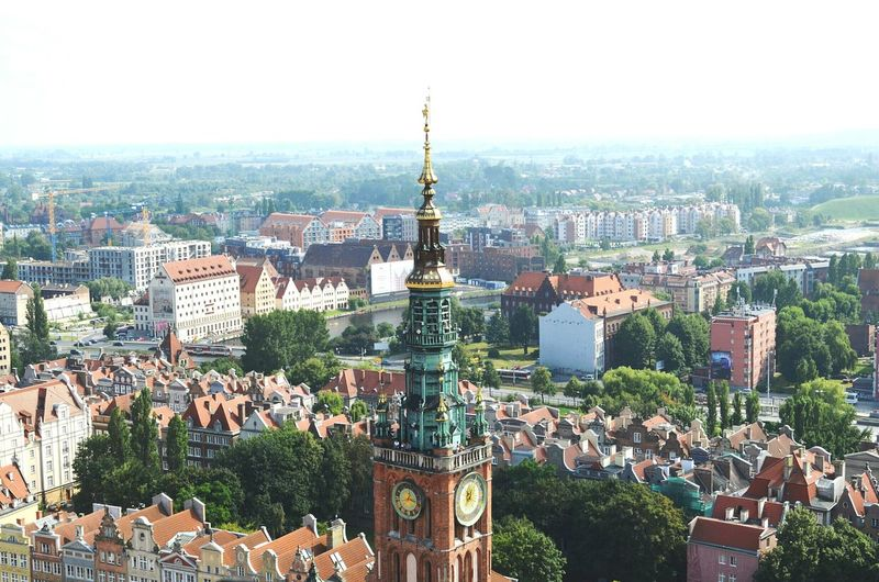 Poland Polska Poland Is Beautiful Architecture Building Story Architectureporn Gdansk,poland Gdansk Gdańsk. Gdańsk 👌🏼 Cityscape Built Structure Building Exterior City High Angle View Residential Structure Residential District Travel Destinations Sky City Life Day Tourism Aerial View Outdoors Skyscraper