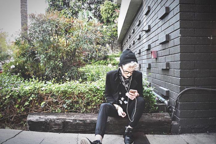 Youth Of Today Street Goth Black & White Iphone Eyeem Towhead Platinum Glasses Millenials