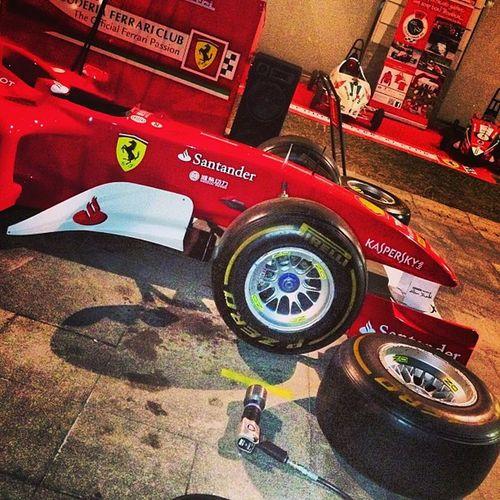 BoxFerrari #f1 #monzafest F1 Monzafest