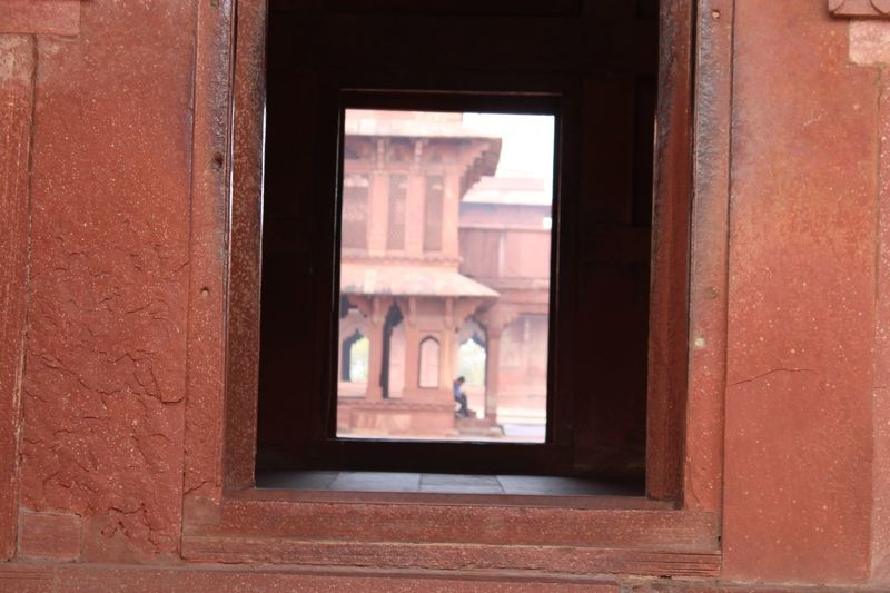 Fatehpur Sikri Architecture Window Built Structure Day Building Glass - Material No People Building Exterior Entrance Door The Past Wall - Building Feature Open