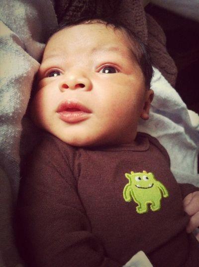 My beautiful nephew!