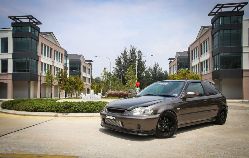 Honda Civic EK  Vtec Rare Automotive Photography Hondaporn Car Transportation Street Mode Of Transport Day Outdoors