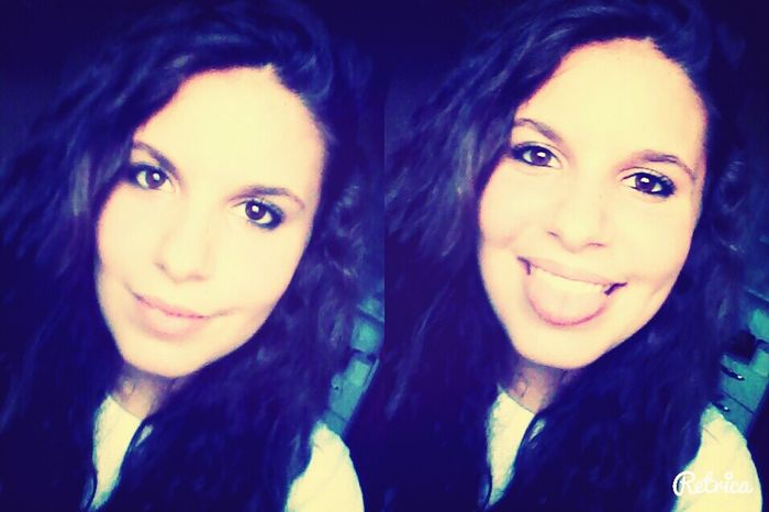 Girl Selfie ✌ Retrica Two Of Me