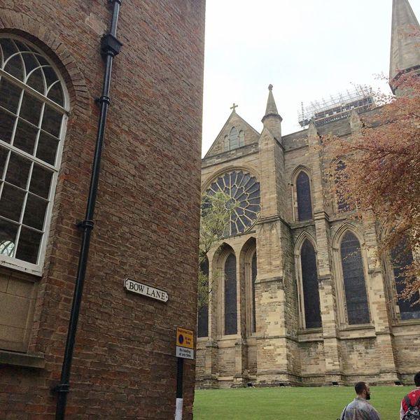 Durham Cathedral Durham City Durham University Street Corner