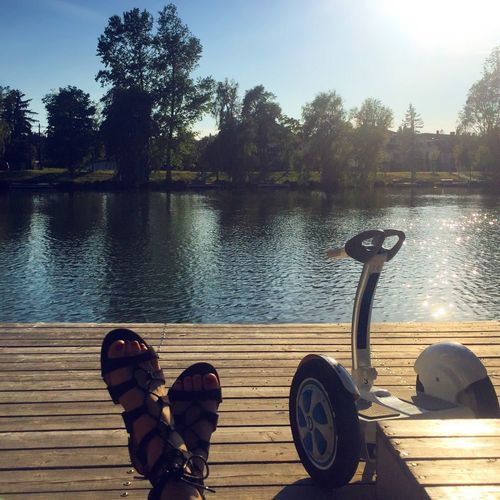 Shoe Lake Tree Nature Outdoors Airwheel Segway A New Perspective On Life