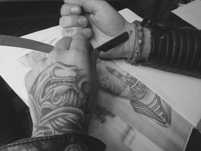 Black Hanya Tattoo Tattooartist  Araf Art Tattoo Ankara