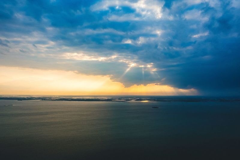 Sea Sunset Scenics Water Beauty In Nature Tranquility Sky Tranquil Scene Nature Horizon Over Water Cloud - Sky No People Outdoors Travel Destinations Nautical Vessel Day EyeEm Gallery Lost In The Landscape Venice, Italy Droneshot Venezia Waterfront Beauty In Nature Sunset_collection Horizon Perspectives On Nature The Great Outdoors - 2018 EyeEm Awards