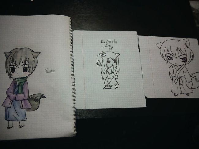 Tomoe Lucy Heartifilla Fairytale  оченьприятнобог Anime рисунки🎨😸😉 First Eyeem Photo