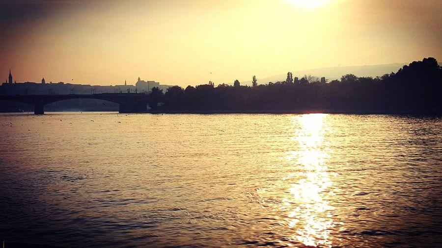 Duna river Budapest