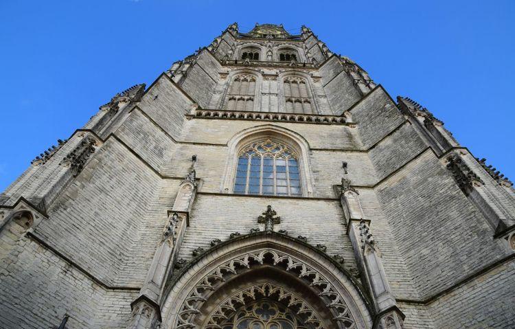 Church Breda Netherlands Looking Up Sky Blue Grote Kerk Breda Kerk The Architect - 2016 EyeEm Awards