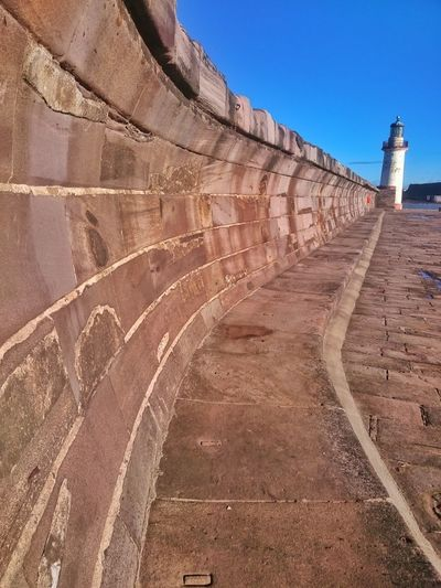 Outdoors Architecture Eyeemphotography Mylife Out And About Walking Around Harbour Front Harbour View Lighthouse, Beacon, Light, Guide, Tower, Warn, Whitehaven Habour Stone Walls Test Of Time Worn Wall Habour Wall