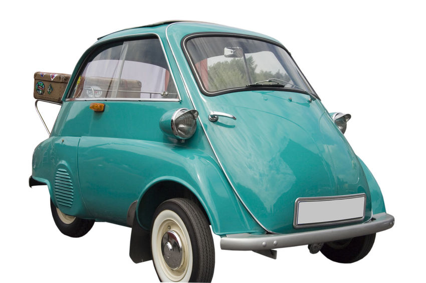 BMW Isetta with an old case - Vintage German Tricar - ready for vacation Bmw BMW Isetta Car Classic Car Compact Car German Germany Isetta Isetta BMW Isolated Isolated On White Land Vehicle Luggage No People Nostalgia Oldtimer Single Object Subcompact Car Suitcase Travel Tricar Vacations Vintage Vintage Cars White Background
