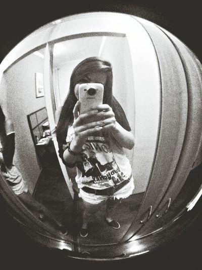 Sonic Youth Black And White Fisheye
