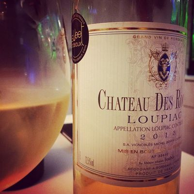 Le moment Loupiac biensur. Wino collection Blanc Whitewine Instawine Sweetbordeaux