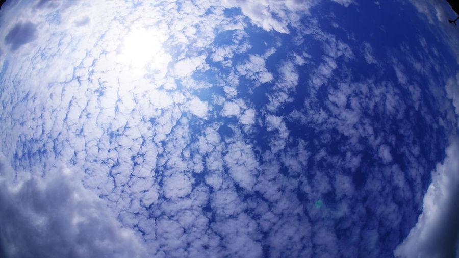 Full frame shot of cloudscape against sky