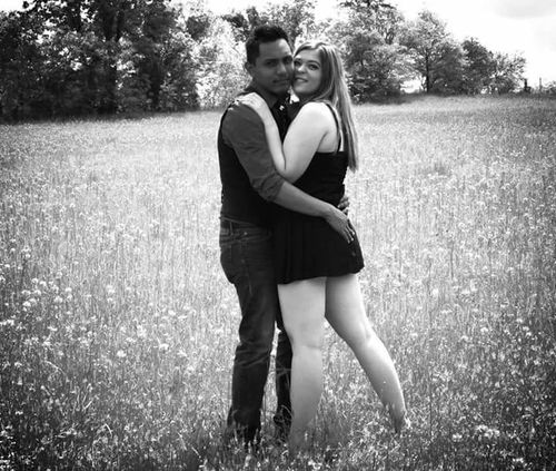Couple <3 Couple Couple In Love Blackandwhite Photography Black And White Portrait Countrylove Couple Cuteness Lovephotography  Manandwoman LoveLife❤️ Field Of Dreams