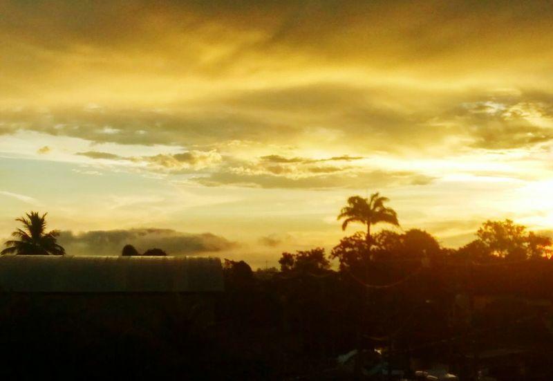 Brazil Brasil Riodejaneiro Itaborai Paradise Landscape Summer Sun Sunset How's The Weather Today? Pmg_jan