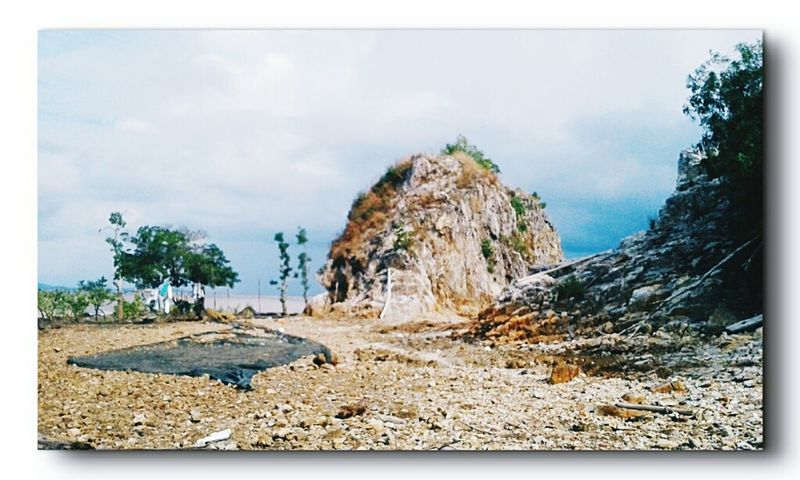 Day Kamis SORE Nature Pantai Batu Kepri Keprifoto Pulau Alai No People INDONESIA