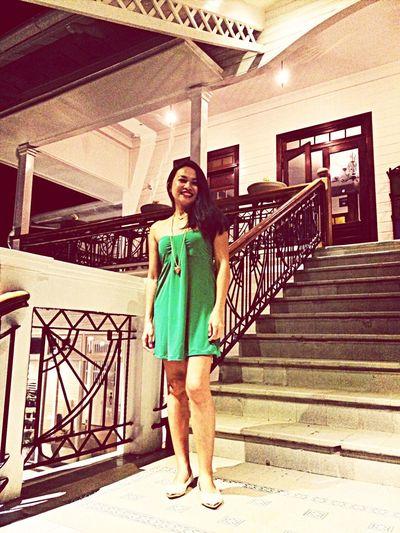 Ootd Green Dress Solo