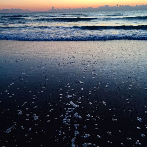 My beach life Beachlovers Light And Shadow Sunrise Waves, Ocean, Nature Beachphotography Beauty In Nature Ocean Waves Rolling In Simple Life Water_collection Just Hanging Out Ocean❤