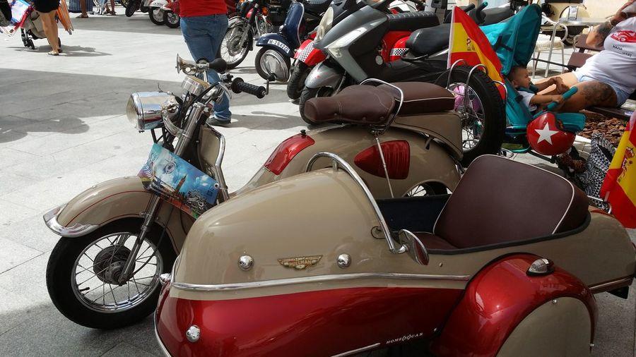 Motorcycle En Rota .