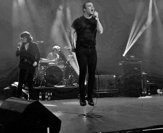 Future Islands @ O2 ABC - Glasgow 04/11/2014 FutureIslands Arts Culture And Entertainment Enjoyment Full Length Indoors  Input Device Microphone Music Musician Nightlife People Performance Real People Singer  Singing Stage Stage - Performance Space Standing Technology Women Young Adult